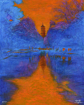 World No. 1 Painting - Suzhou by Time Lin