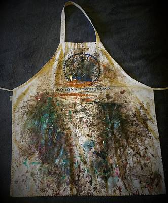 Mixed Media - Suzn's Apron by Suzn Art Memorial