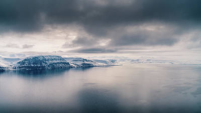 Photograph - Svalbard Mountains by James Billings