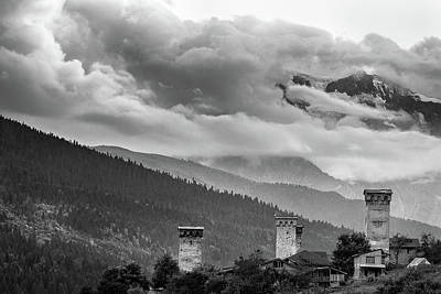 Photograph - Svan Towers by Francesco Emanuele Carucci