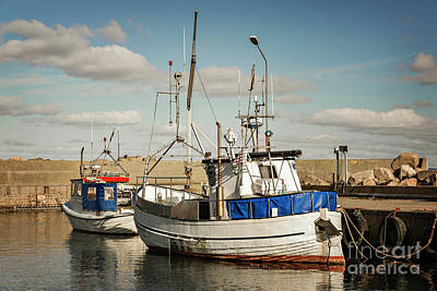 Photograph - Svanshall Village Harbour by Sophie McAulay