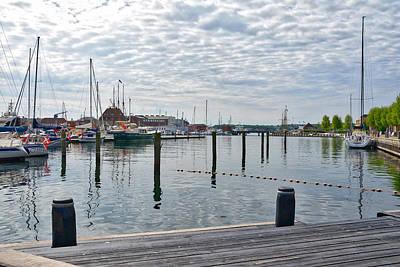 Photograph - Svendborg Harbour by Ingrid Dendievel