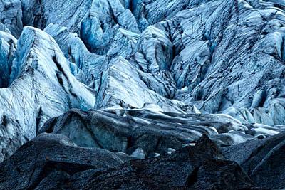 Photograph - Svinafellsjokull Glacier #2 - Iceland by Stuart Litoff