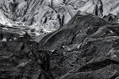 Photograph - Svinafellsjokull Glacier #3 - Iceland by Stuart Litoff