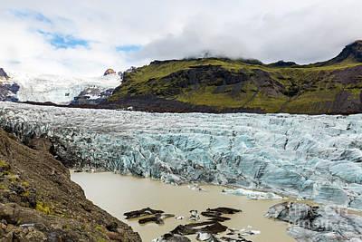 Photograph - Svinafellsjokull by Gunnar Orn Arnason