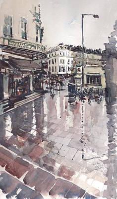 Painting - Sw7 London by Gaston McKenzie
