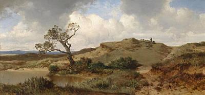 Painting - Swabian Jura by Albert Zimmermann