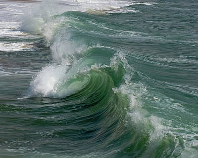 Photograph - Swakopmund Beach Wave 2 by Ernie Echols