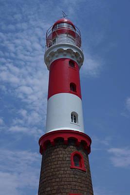 Photograph - Swakopmund Lighthouse 2 by Ernie Echols