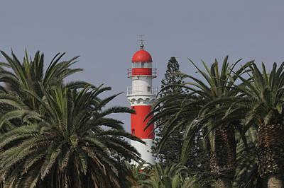Photograph - Swakopmund Lighthouse 3 by Ernie Echols