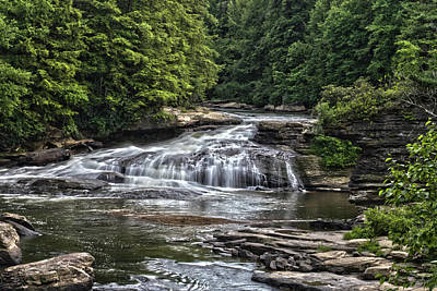 Photograph - Swallow Falls by Daniel Houghton