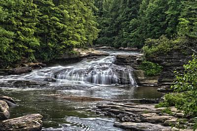 Photograph - Swallow Falls by Daniel Houghton