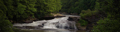Photograph - Swallow Falls Panoramic by Daniel Houghton