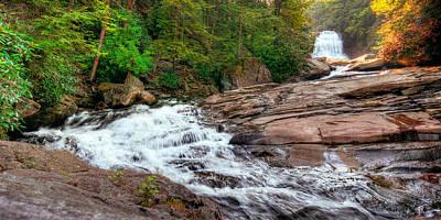 Photograph - Swallow Falls  by Ryan Heffron