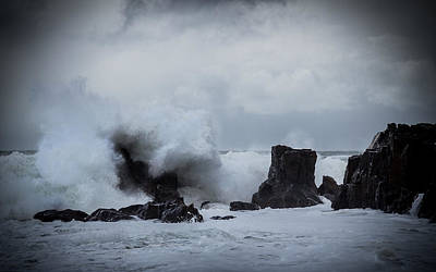 Photograph - Swallowing The Rocks by Alex Leonard