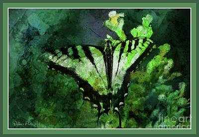Photograph - Tiger Swallowtail Butterfly 2 by Debbie Portwood