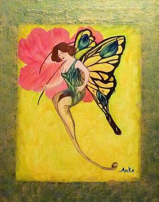 Swallowtail Fairy Original by Anke Wheeler