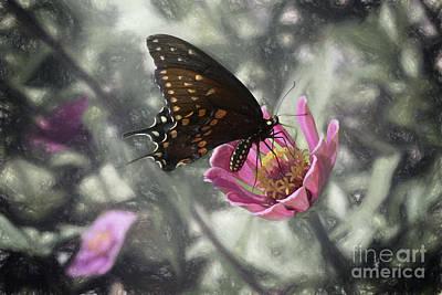 Swallowtail In A Fairytale Art Print