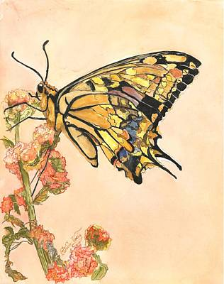 Painting - Swallowtail Sunrise by Patricia Voelz