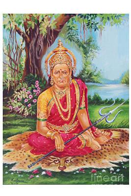 Goddess Jewellery Painting - Swami Samarth by Kalpana Talpade Ranadive