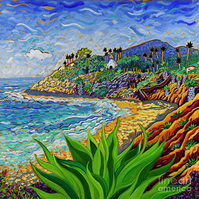 Painting - Swamis Agave Max by Cathy Carey