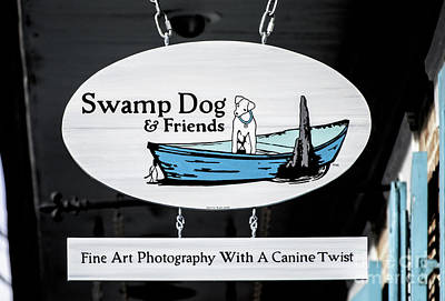 Swamp Dog And Friends Art Print