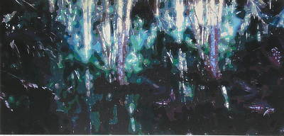Painting - Swamp Ghosts Gulf Coast Florida by G Linsenmayer