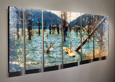 Digital Art - Swamp Life by Mario Carini
