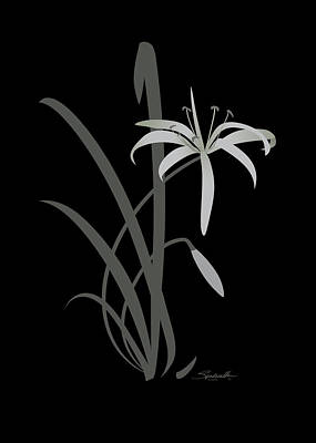 Digital Art - Swamp Lily by Spadecaller