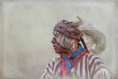 Digital Art - Swamp Owl - Seminole by Mikael Carstanjen