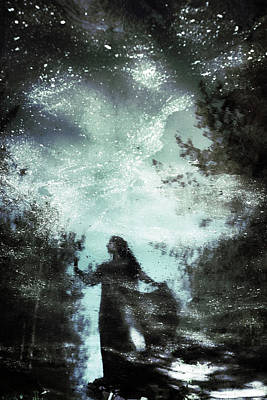 Reflected Photograph - Swamp Witch by Cambion Art