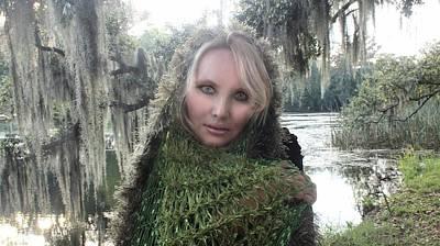 Oshun Wall Art - Photograph - Swamp Woman by Karen StClaire