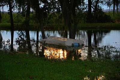 Photograph - Swamped After Irma by David Lee Thompson