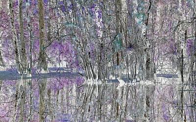 Swampscape Art Print
