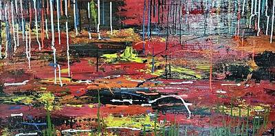Painting - Swampy Hollow by Judi Goodwin