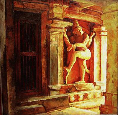Tamilnadu Painting - Swamy by Sathya Sathya