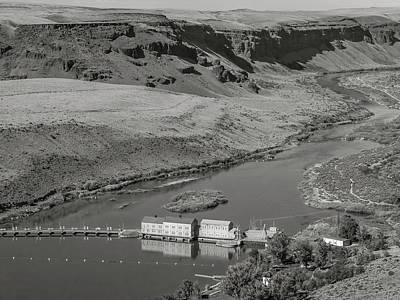 Photograph - Swan Falls Dam by Mark Mille