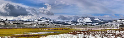 Photograph - Swan Flats Mountain Panorama by Adam Jewell