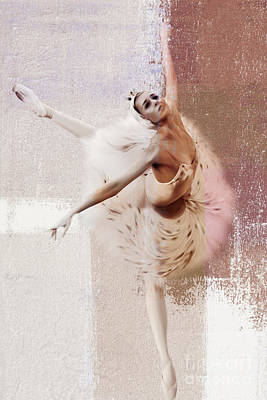 Ballet Painting - Swan Lake Dance  by Gull G