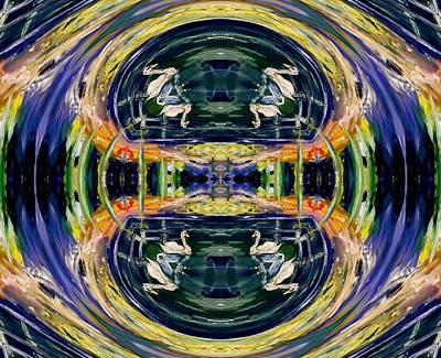 Digital Art - Swan Lake Fantasy by Max DeBeeson