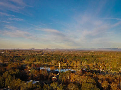 Furman Photograph - Swan Lake From Above by James Richardson