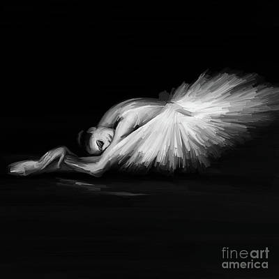 Swan Lake  Original by Gull G