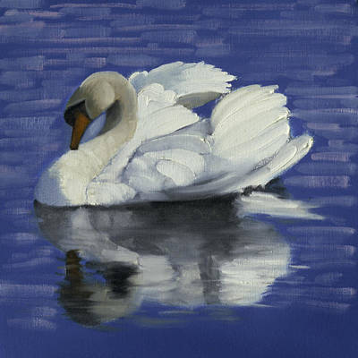 Swan Lake Art Print by John Reynolds