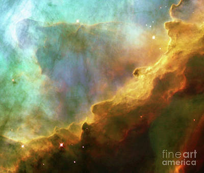 Exploration Of Space Photograph - Swan Nebula, M17, Birthplace Of Stars, Space, Astronomy, Science by Tina Lavoie