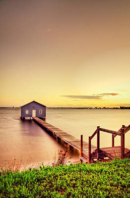 Busselton Photograph - Swan River by Jimmy Chong