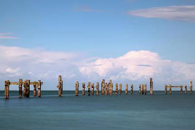Swanage Pier Photograph - Swanage - England by Joana Kruse