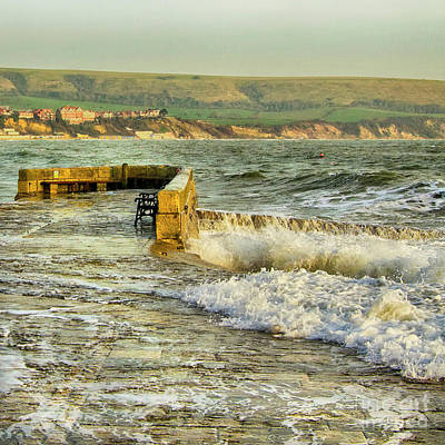 Photograph - Swanage Harbour by Linsey Williams