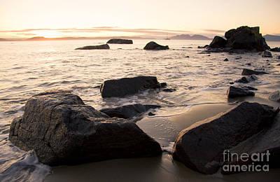 Swansea Coastline Sunrise Art Print by Jorgo Photography - Wall Art Gallery
