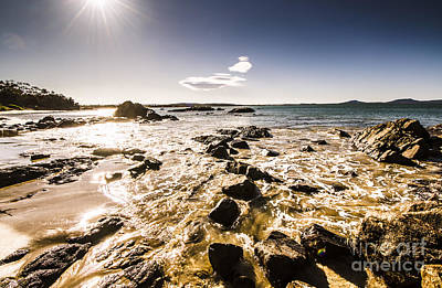 Photograph - Swansea Tasmanian Beach Landscape by Jorgo Photography - Wall Art Gallery
