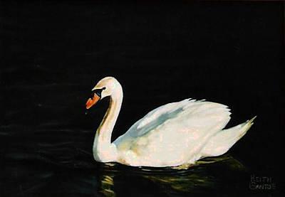 Swany River Art Print